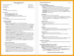Child Care Provider Resume Objective Examples With Day Childcare