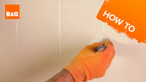 Grey Tiles Bq by How To Paint Tiles Youtube