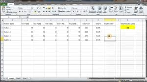 How To Calculate A Letter Grade For Students MS Excel YouTube