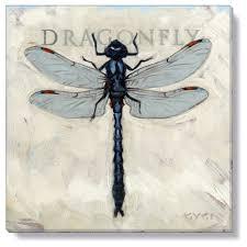 AM Living Gygi Dragonfly Canvas Wall Art