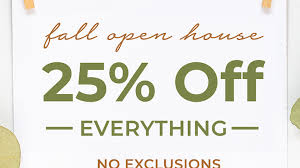 Kirkland's Fall Open House Coupon Code: 25% Off Your Entire ... Ps4 Pro Coupons Kalahari Resort Sandusky Ohio Directions Cycle House Promo Code Weight Watchers Waive Sign Up Fee Brilliant Book West Elm Coupon Uk Yoox May 2018 American Giant Clothing White Black Can I Reuse K Cups 37 Off Babbittsonlinecom Promo Codes 10 Babbitts My Sister Asked For A Pas In The House House Of Cb Discount Codes Wethriftcom Mod Pizza Buy One Get Cloud 9 Hair Moving Sale Coupon Code Moving35 Brickhouse Fabrics Etude 50 Off Regular Priced Items Free Us Shipping The Wwe Shop