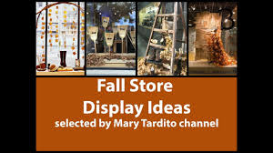 Fall Store Display Ideas Decorating