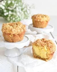 streusel muffins käsekuchen mix dich glücklich