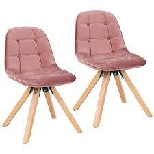 samt grau polsterstuhl mit metallgestell retro design stuhl