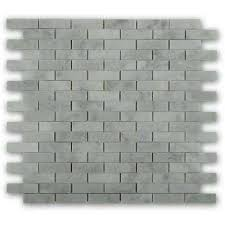 Carrara Marble Tile 12x12 by 12x12 Marble Tile Natural Stone Tile The Home Depot