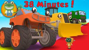 100 Youtube Trucks For Kids Max The Monster Truck And More Big Children Geckos