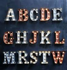 letters with lights citybirds club