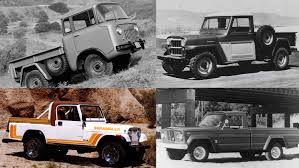 100 History Of Trucks The Long Illustrious Of Jeep Pickup RevRebel