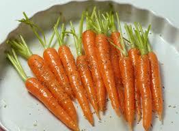 cuisiner les carottes recette associons mini carottes et carottes de couleur cuisinons