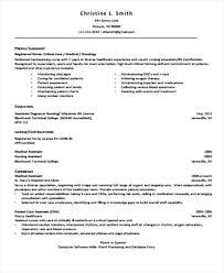 Nurses Resume Format Graduate Nurse Diploma Nursing Pdf