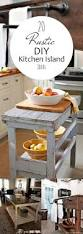 Primitive Kitchen Island Ideas by Top 25 Best Small Rustic Kitchens Ideas On Pinterest Farm