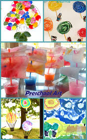 Summer Preschool Art Projects