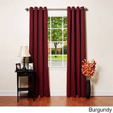 Burgundy Grommet Blackout Curtains by Decidyn Com Page 116 Rustic Living Room With Extra Large Wall