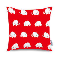 Decorative Couch Pillows Amazon by Amazon Com Popeven Elephant Pillow Covers Grey Home Decorative