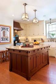 arts and crafts style lighting kitchen traditional with wooden