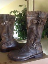 bed stu womens biltmore nectar lux leather motorcycle boot 7m ebay