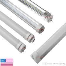 8ft t8 led light bulbs 45w fa8 r17d g13 rotating single pin