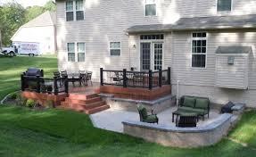 Backyard Deck And Patio Patio Deck Design Ideas