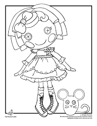 Sugar Crumbs Cookie Lalaloopsy Coloring Page Woo Jr Kids Activities