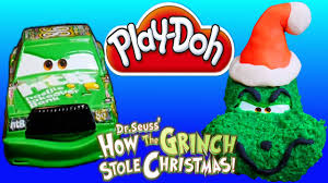 The Grinch Christmas Tree by Play Doh Cars Hicks As Dr Seuss The Grinch Who Stole