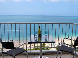 Blue October 18th Floor Balcony by Stunning 18th Floor Remodeled 2 2 Beachfront Homeaway Isla