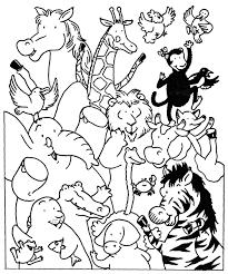 Dibujos Para Colorear Para Ninos De Animales Salvajes
