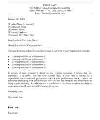 Letter Of Job Application Example Email Cover Letter Attachment