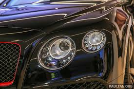 GALLERY Bentley Continental GT Black Speed by Mulliner at new
