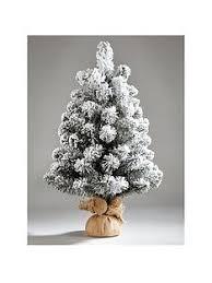 Christmas Tree Flocking Spray Uk by Christmas Trees Traditional U0026 Fibre Optic Trees Very