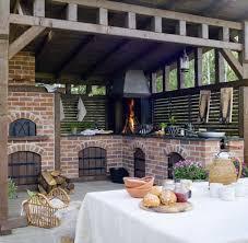 cuisine d ete couverte 1001 idées d aménagement d une cuisine d été extérieure barbecues