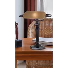 Who Makes Ledu Lamps by Kenroy Home 20610orb Banker Lamp Review