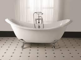 casa padrino luxus jugendstil badewanne weiß silber 180 x 77 x h 79 cm gebogene freistehende acryl badewanne mit verchromten kugelförmigen stahl