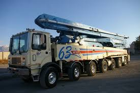 100 Concrete Pump Truck For Sale 63 Meter Putzmeister