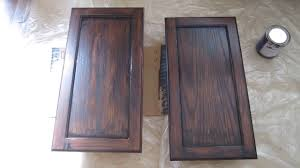 Gel Stain Cabinets White by How To Stain A Cabinet With General Finishes Gel Stain From