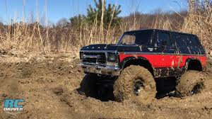 100 Ford Trucks Mudding Traxxas TRX4 Lifted Bronco OffRoad Project Truck Action RC