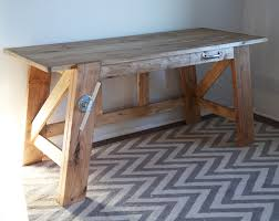 Pottery Barn Desks Used by Ana White Large Henry Desk Diy Projects