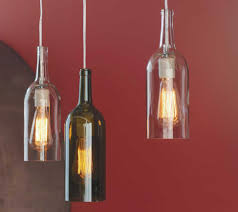 How To Make A Hanging Lamp From Wine Bottle