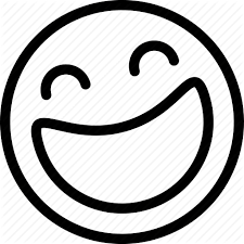 Laughing Emoji Clipart Black And White