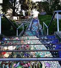 16th Ave Tiled Steps Project by 16th Avenue Tiled Steps Sanfrancisco Traveltuesday Bayarea