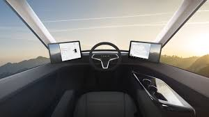 100 Semi Truck Interior Tesla An Look Inside The New Electric Fortune