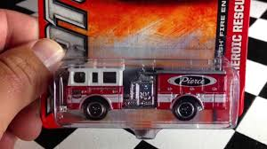 100 Matchbox Fire Trucks 2013 Pierce Truck YouTube