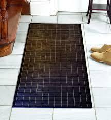 Decorative Cushioned Kitchen Floor Mats by Amazon Com Bamboo Floor Mat 24 U0027 U0027 X 72 U0027 U0027 Kitchen Mats Kitchen