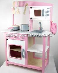 cuisine bois fille foldable wooden kitchen for kid with accessories buy