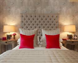Traditional Bedroom In London With Beige Walls