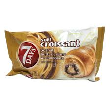 7 Days Soft Croissant With Peanut Butter Creme Chocolate 75g