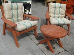 Patio Furniture Sling Replacement Houston by Vintage Redwood Outdoor Furniture Sets U2014 Decor Trends