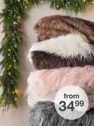 World Market Khaki Luxe Sofa by Throw Blankets Blankets U0026 Throws Target