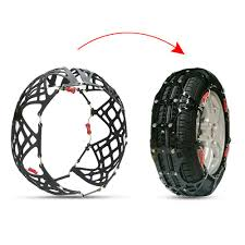 Y 3 Set Of 2 Tire Chain For Car SUV Mud Snow Tire Anti Skid Security ...