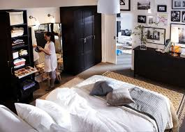 Modern Ikea Small Bedroom Designs Ideas Endearing Decor With Exemplary