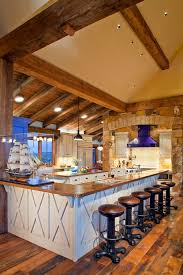 fantastic lighting for vaulted kitchen ceiling and great ideas for